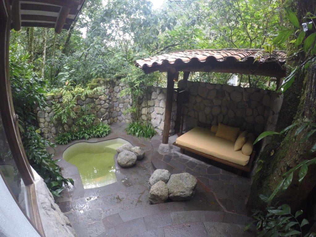 Inkaterra Machu Picchu Pueblo thermal pool