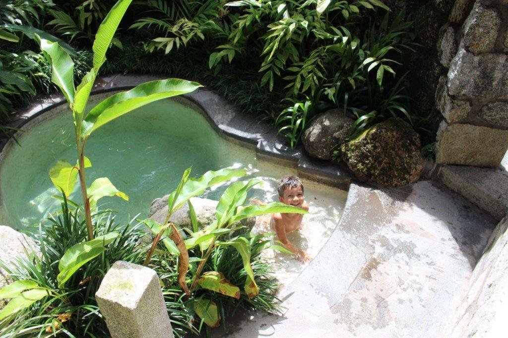Inkaterra Machu Picchu Pueblo suite thermal pool
