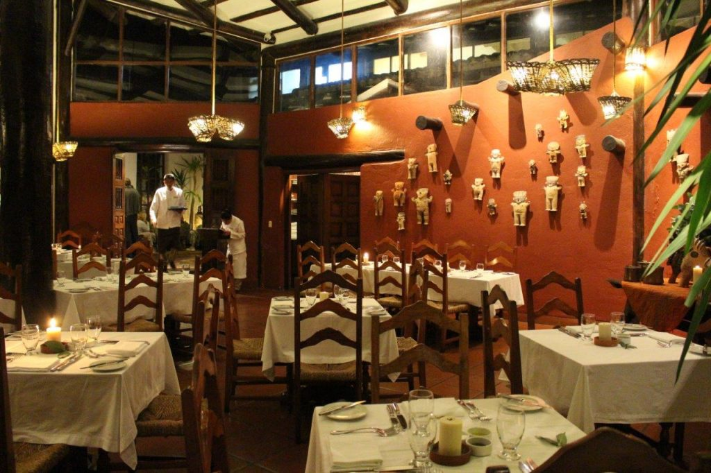 Inkaterra Machu Picchu Pueblo restaurant