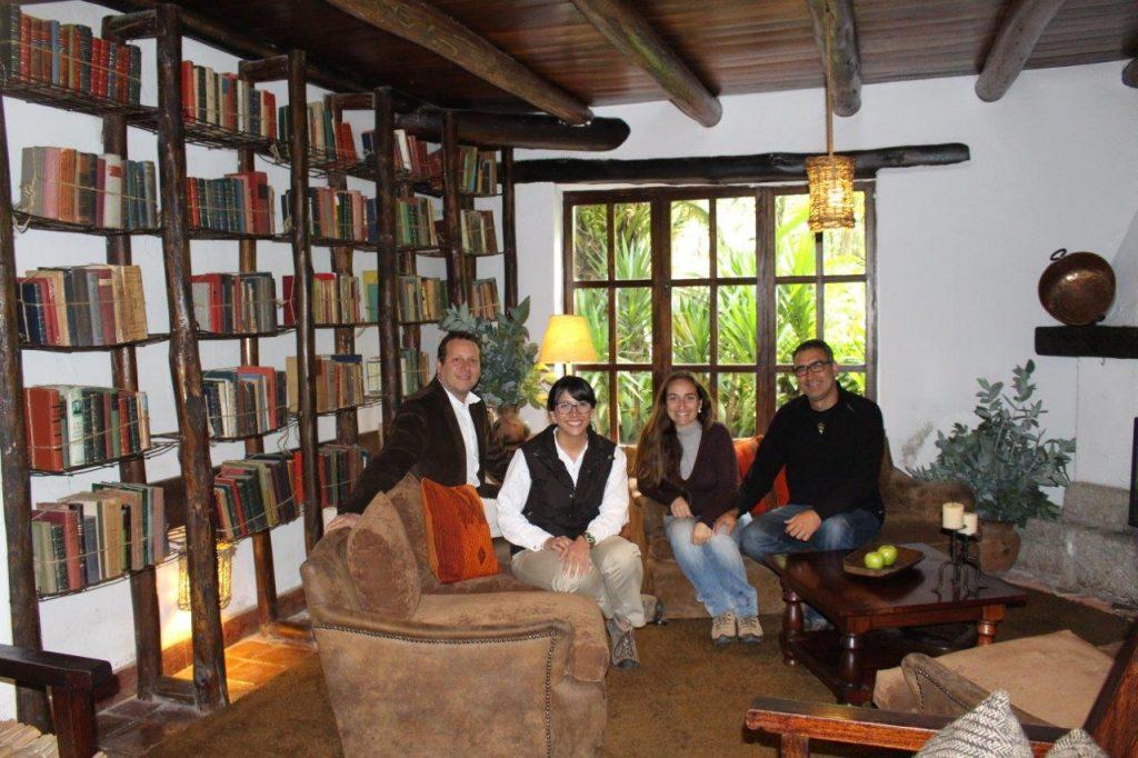 Inkaterra Machu Picchu Pueblo library