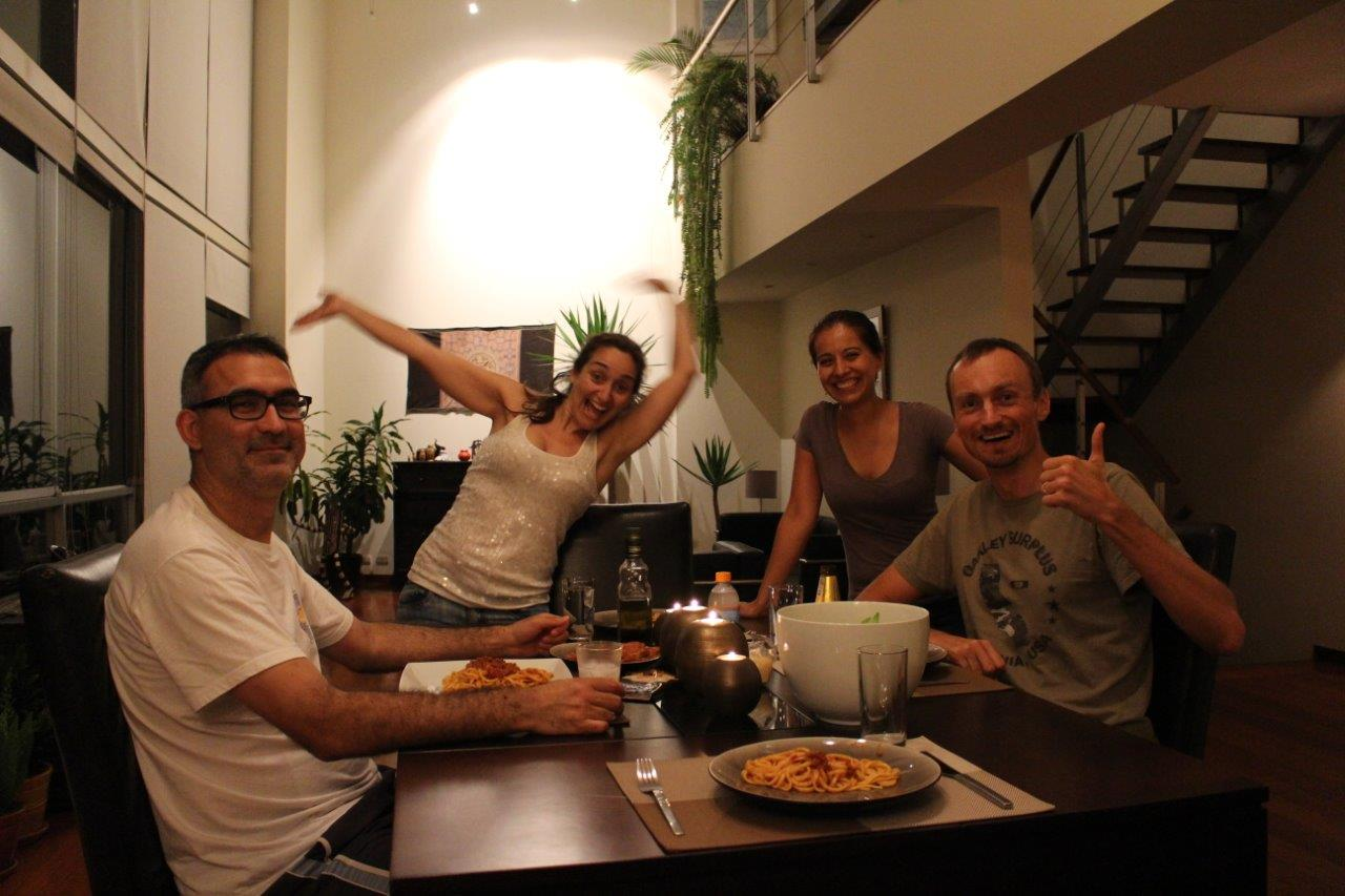 When not eating out, we enjoyed our time cooking at home with our friends Susie and Ben, who hosted us in Lima