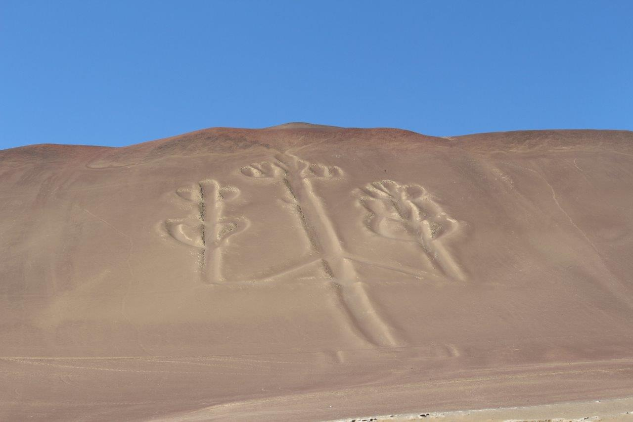 The Candelabro is a geoglyph full of mystery