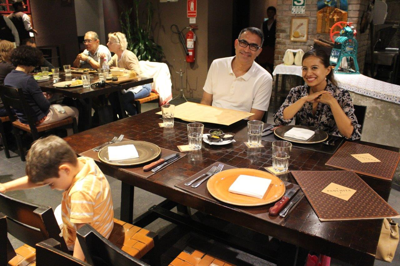 We had a great evening at Restaurante Panchita withour friend Susana