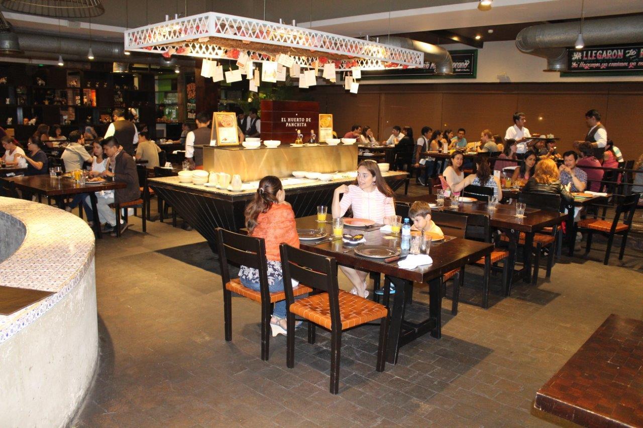 A great evening at Restaurante Panchita