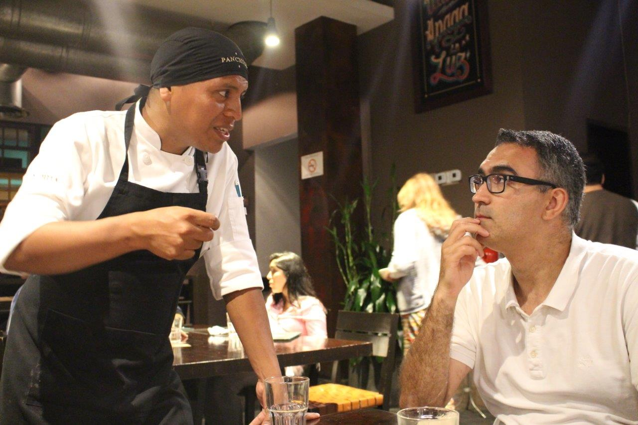 Our chef Miguel kindly came to our table to explain a bit about the dishes and the cuisine at Restaurante Panchita