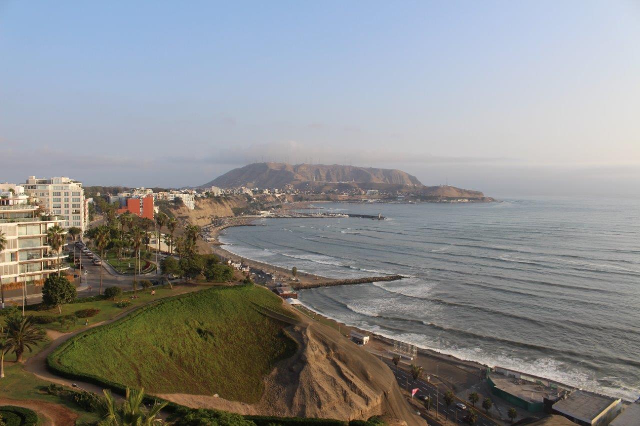 The coastal area of Barranco