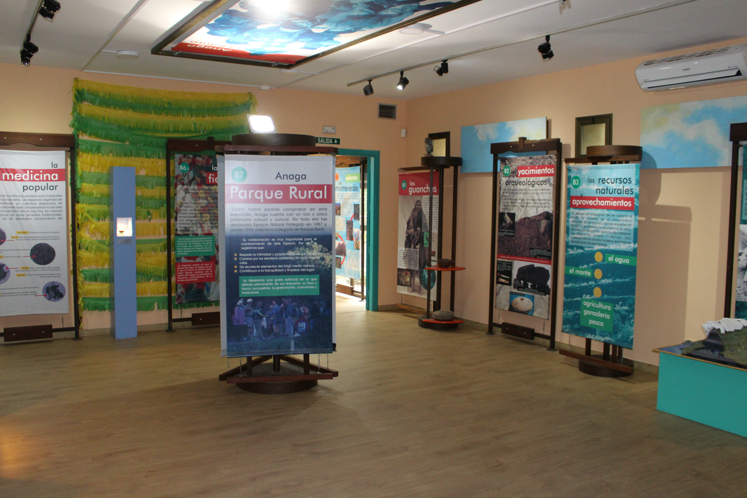 Visitor's center in Anaga, where you can collect information about the park and for your excursion