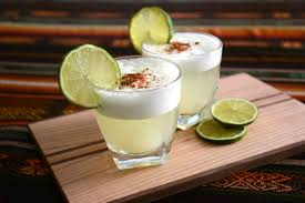 Pisco sour can be served in different ways