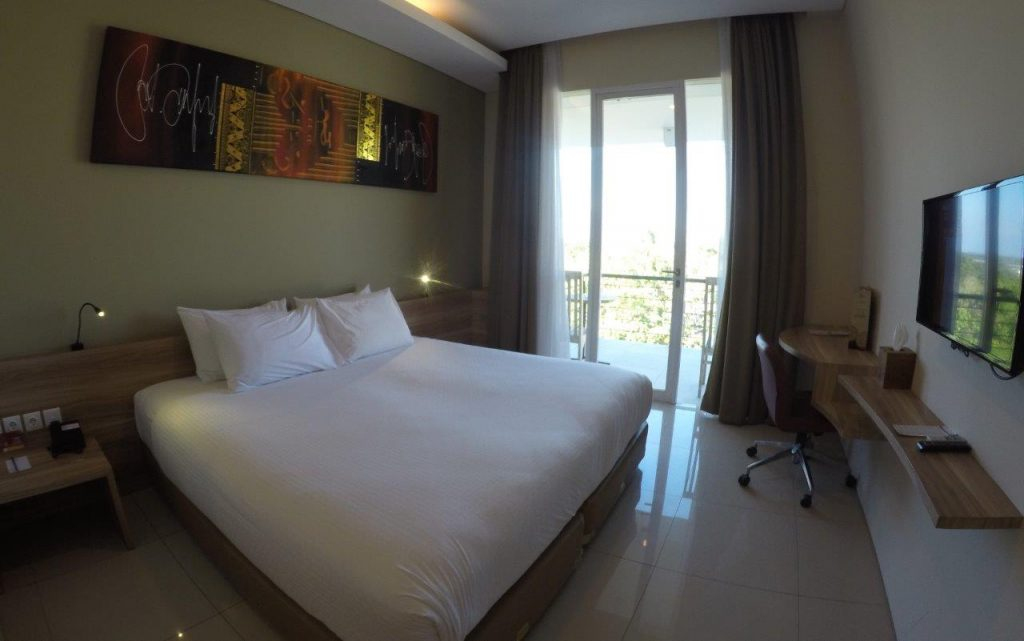 Our Superior Room for the first night at the Mahogany Hotel in Nusa Dua, Bali