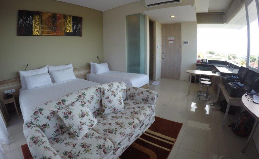 Amazing Family Room at the Mahogany Hotel in Nusa Dua, Bali