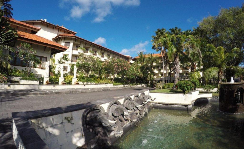 Main entrance at the Grand Mirage Resort & Thalasso Bali