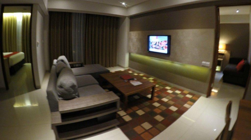 Family room at the Ramada Encore Bali Seminyak