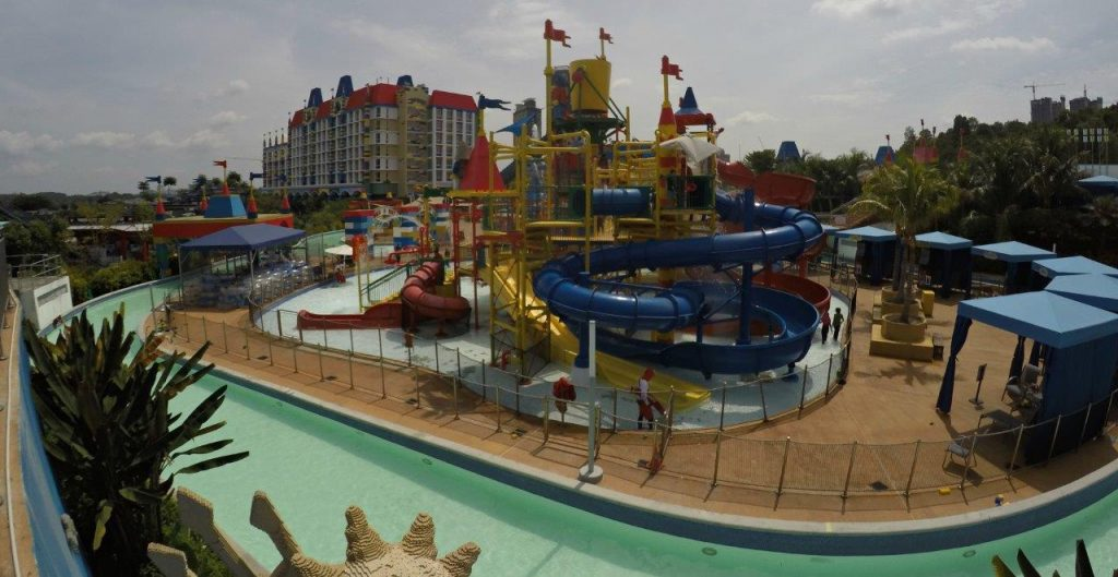 We couldn't wait to spend the days at Legoland Malaysia Waterpark