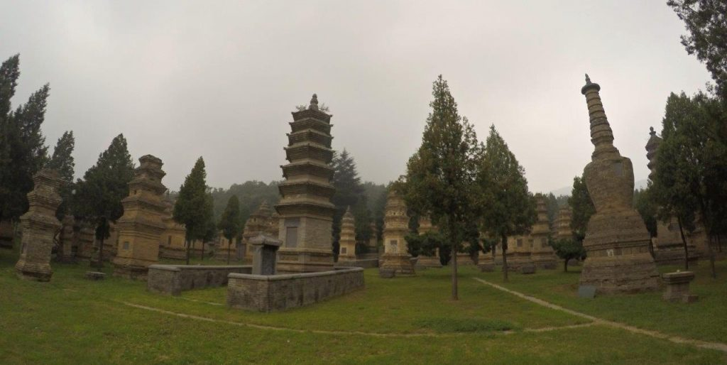 Pagoda Forest at the Shaolin Temple