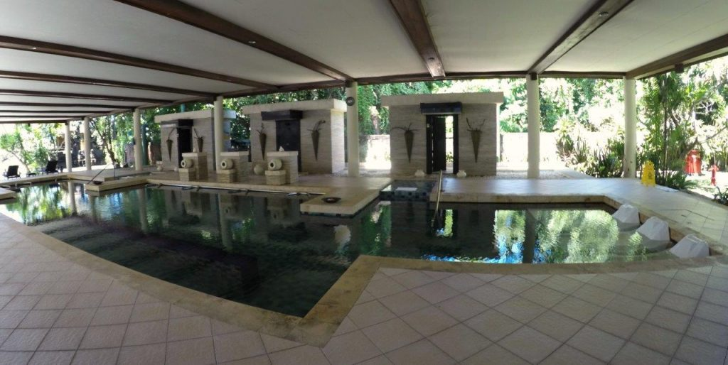 Aquamedics pool at Thalasso Bali Spa - Grand Mirage Resort
