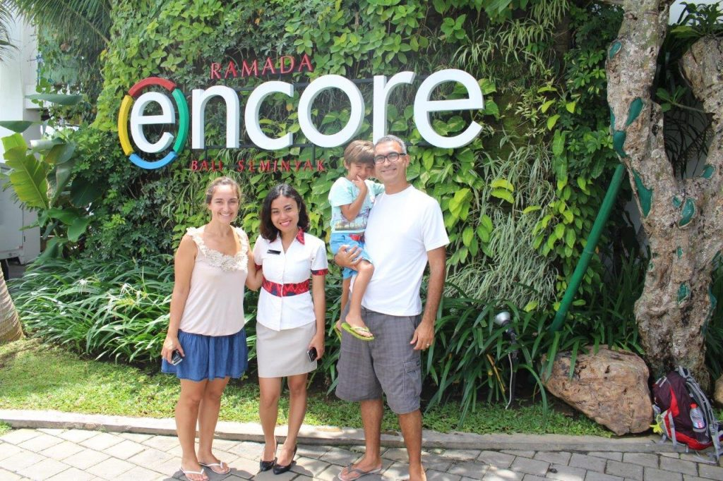 Our goodbye to Umu and the Ramada Encore Bali Seminyak, one of the best family resorts in Bali