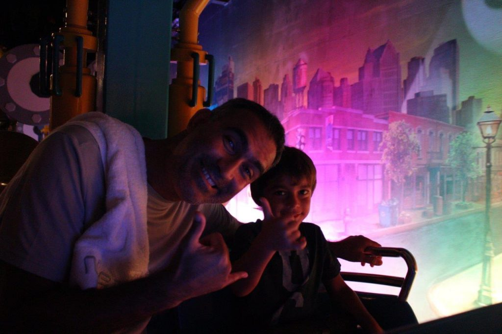 Noah had a blast at Universal Studios Singapore... just as Ruth and myself did
