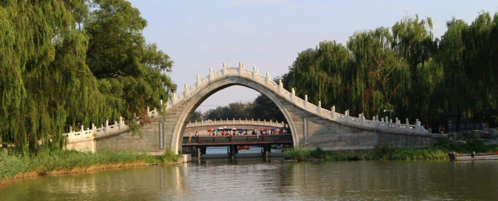 Xuiyi Bridge at the Summer Palace of Beijing