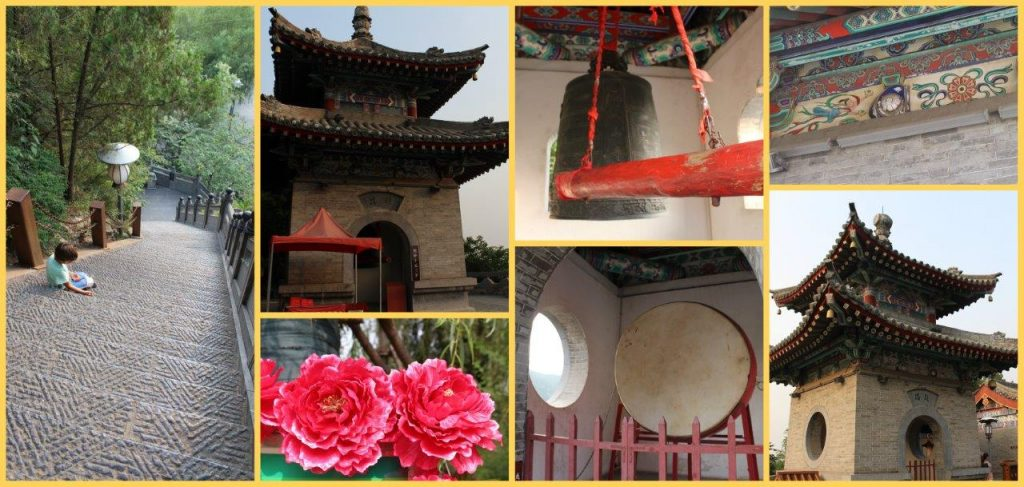 Impressions of the Xiangshan Temple at Longmen Grottoes