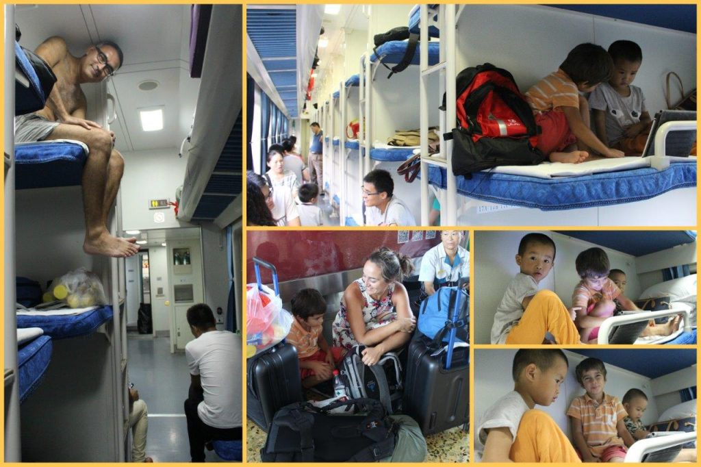 Another journey in one of the cabins of train in China. This time to Shanghai