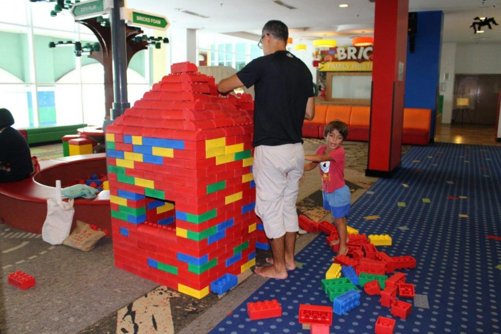 Our first day at Legoland Malaysia Resort was enjoying the hotel which offers plenty of things to do with kids