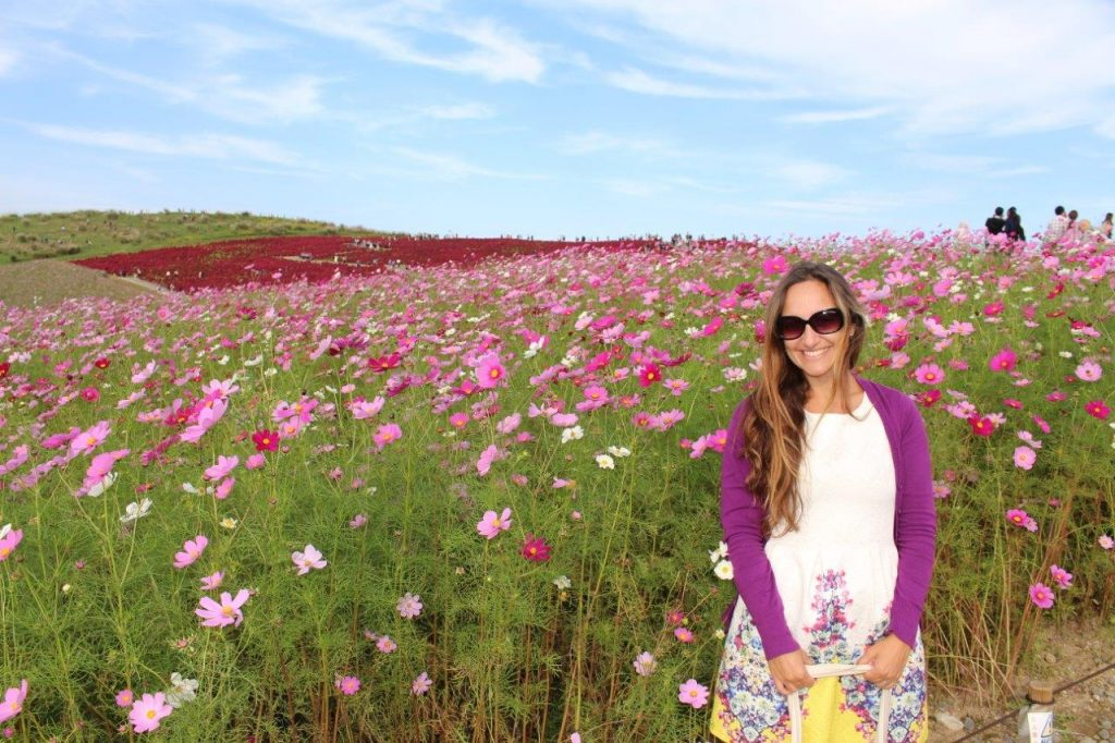 One of the best moments of our trip in Japan - the Hitachi Seaside Park