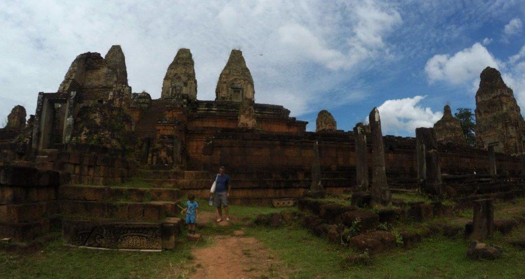 Ruins at Angkor Wat