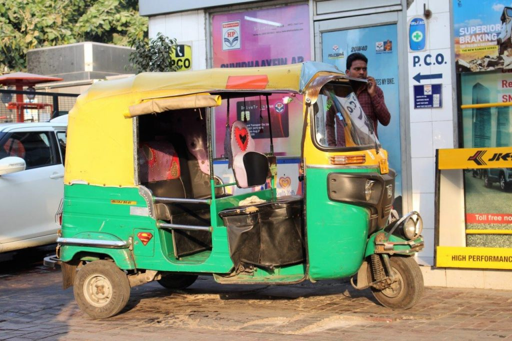 This is a very popular and common transport in India
