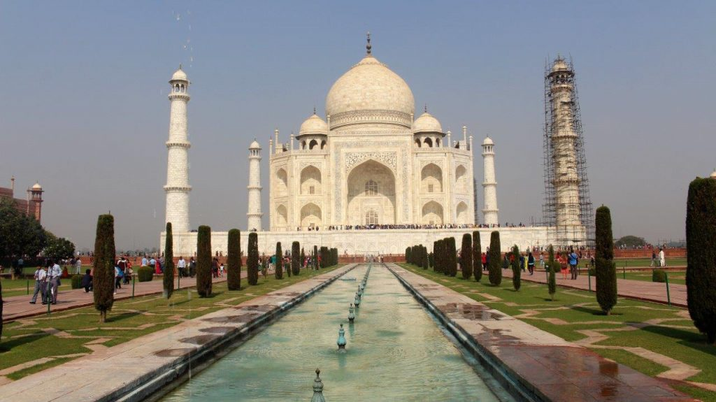 Taj Mahal, one of the seven wonders