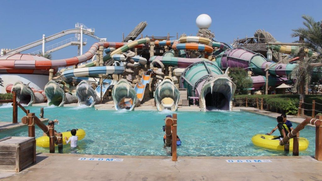 Spend a full day at Yas Waterworld in Abu Dhabi was one of the best things we could've done during our stop in the UAE