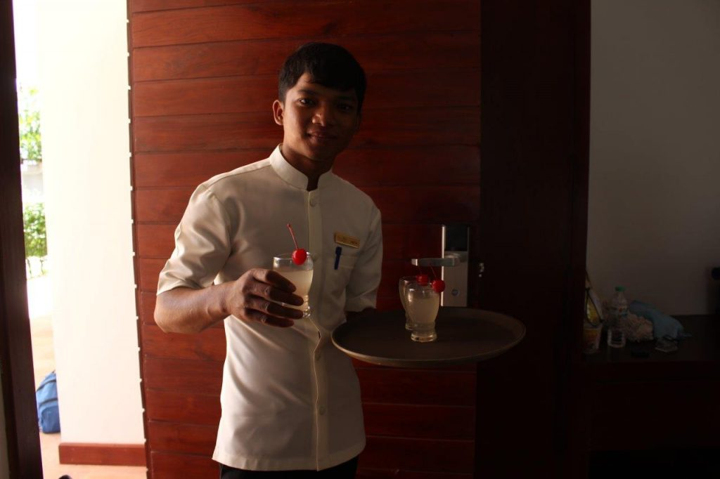 The whole staff at Elegant Angkor Resort & Spa in Siem Reap was very helpful and professional