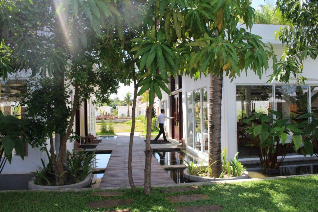 Elegant Angkor Resort & Spa is in a very peaceful surrounding area