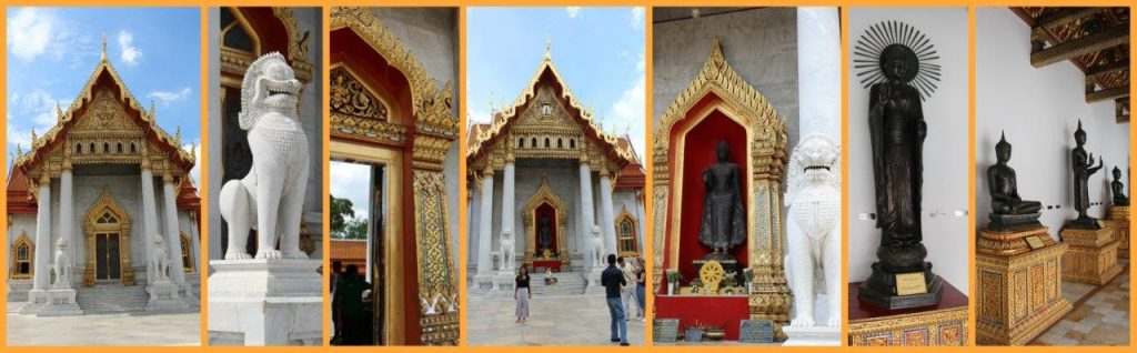 Beautiful Marble Temple in Bangkok