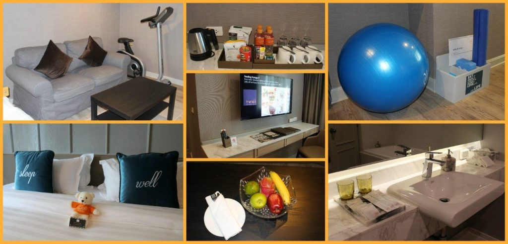Well Hotel Bangkok Sukhumvit 20 has a really nice mix of concepts for wellness and lifestyle