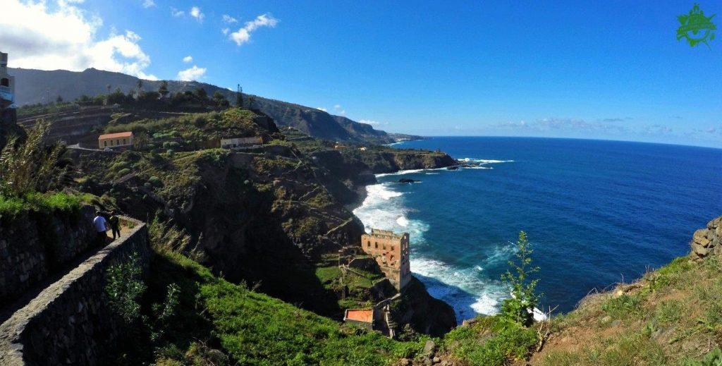 Las vistas durante la excursión por la Rambla de Castro en Tenerife eran simplemente increíble