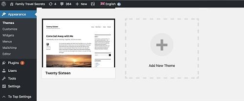 Bluehost wordpress layout